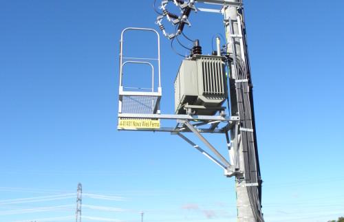 Ferma Drobiu w Nowej Wsi Ełckiej - stacja transformatorowa typu STS