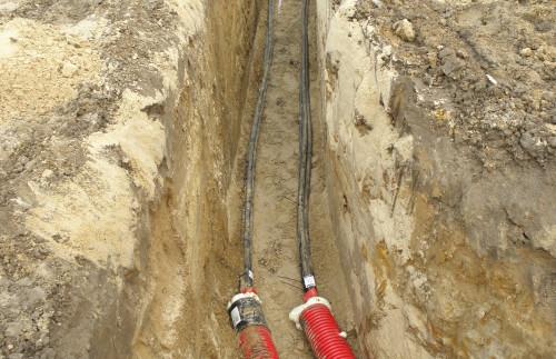 Ułożyliśmy kilomentry linii średnego napięcia SN 15 kV
